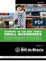 Standing Up for New York's Small Businesses