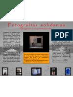 Cartel Fotos Solidarias