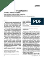 Laparoscopia y Cirugia Hepatica