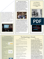 Professional Learning Plan Brochure