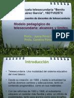 Modelo Pedagogico de Telesecundaria Alcances