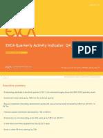 Quarterly Activity Indicator Trends Q3 2011