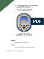 AUDITORIA DE SISTEMAS Y SUS COMPONENTES Guia N°01