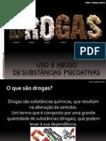 SUBSTÂNCIAS  DROGAS