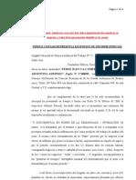 2- Extension de Informe Pericial