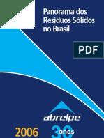 2363213 Panorama Dos Residuos Solidos No Brasil 2006 ABRELPE 2007