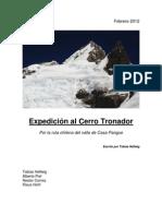 Expedición al Cerro Tronador