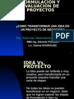Curso ion y Evaluacion de Proyectos Tecnologia Alinentos Fcv