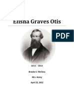 Otis, Elisha Graves REPORT