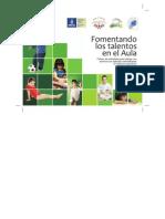 Foment an Do Los Talentos en El Aula_Fichero de Actividades_Alumnos Sobresalientes