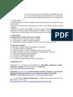 Plano Educação e Trabalho 2012