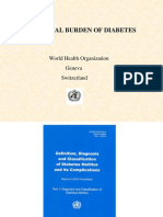 Global Burden Diabetes