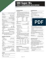 CCE1300803 580 Super M+ Series 3 Loader Backhoe Spec Sheet (Tier III) (1)
