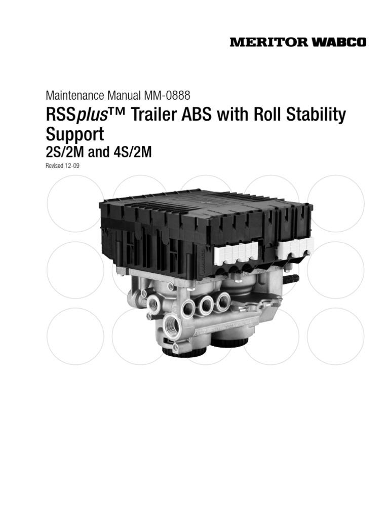 wabco rss abs catalauge anti lock braking system vacuum cleaner Meritor WABCO ABS Troubleshooting meritor wabco trailer abs wiring diagrams  #44 Mercedes ABS Wiring Diagram