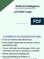 Cps170 First Order Logic