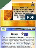 1.-Aspectos metodologicos para la repotenciación de las lineas