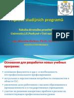 Richter_Studijnich Programy a Bolonsky Proces_RJ