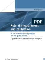 Tcb Role Measurement Calibaration