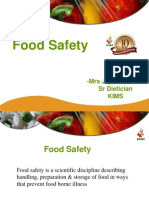 Food Safety KIMS