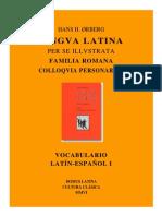 Vocabulario Familia Romana