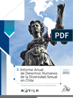 Informe Ddhh Movilh Chile 2011
