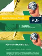 Exportaciones a Mexico