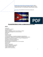 PLAN ESTRATÉGICO PARA LA DEMOCRACIA EN CUBA