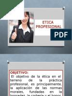 Presentacion de Etica Profesional III Btc