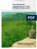 Personal Sustainability Action Plan Workbook