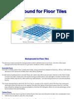 Background for Floor Tiles