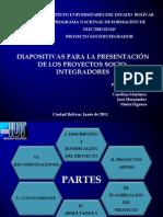 Diapositivas Para El Proyecto Socio-Integrador