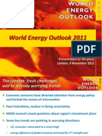 World Energy Outlook 2011