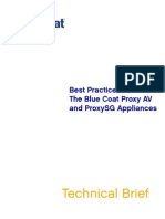 Best Practices the Blue Coat ProxySG and ProxyAV Appliances.1