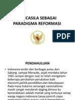 Pancasila Sebagai Paradigma Reformasi1