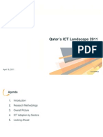 Qatar's ICT Landscape 2011 - Key Findings