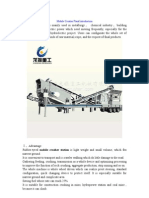 Mobile Crusher Plant Introduction