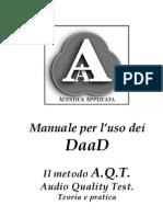 Manuale uso DaaD