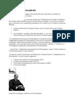 Histoire de La Francophonie
