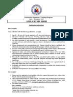 NAPC-CO Application Form