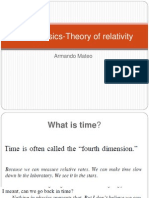 Astrohysics-Theory of Relativity