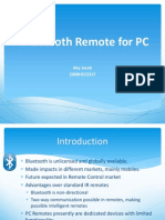 Bluetooth Remote for PC