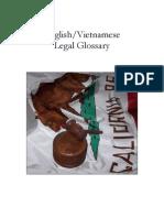 Vietnamese Legal Glossary