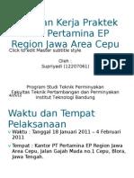 Presentasi KP (Supriyadi-12207061)