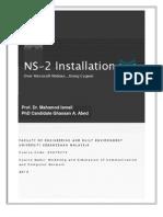 KKKT6274 -NS2 Instalation