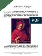 Un jesuita vestido de púrpura. S. Roberto Belarmino