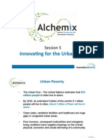 Alchemix5 - Trigger thoughts, innovating for the urban poor