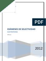 Exámenes+selectividad+electrotecnia 2009-2011