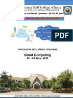Cloud Computing 4 - 8 June 2012