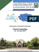 Cloud Computing 4 - 8 June 2012