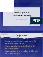 Outpatient Teaching Slides